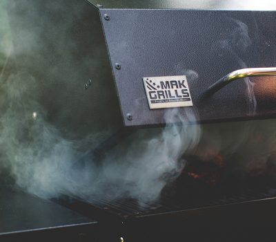 MAK One-Star General Grill Opening with Smoke