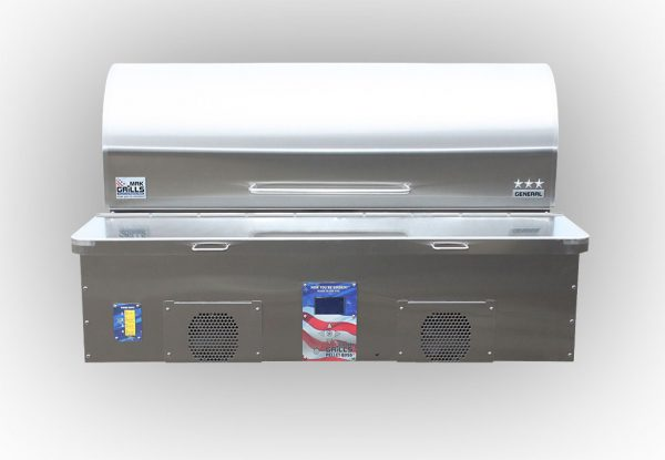 MAK Grills Three-Star General Built-In Model