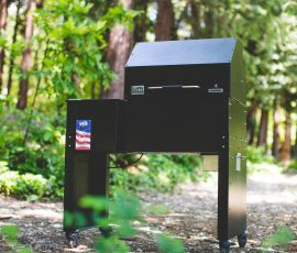This is the One-Star General Grill from Mak Grills.