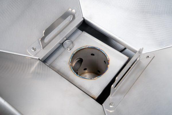 MAK Grills Stainless Steel Firepot