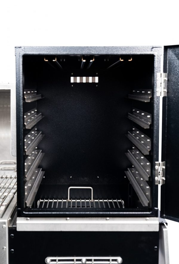 Super Smoker Box Interior Front