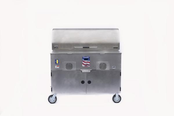 MAK 3-Star General with Cart- Pellet Grill - Pellet Smoker