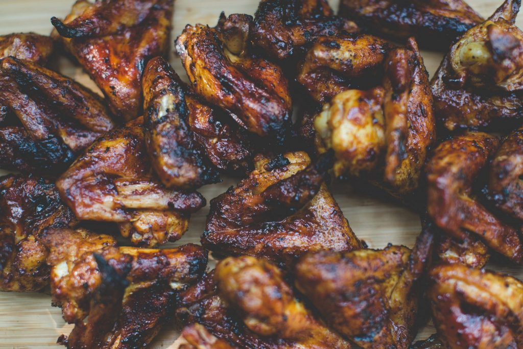 Easy Caribbean Jerk Chicken Wings Recipe from Mak Grills