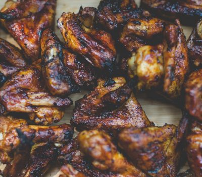 Easy Caribbean jerk chicken Wings Recipe from Mak Grills used for devil's punch hot wings