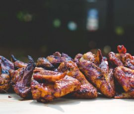 Caribbean Jerk Chicken Wings Recipe by Mak Grills