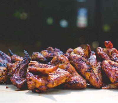 Caribbean Jerk Chicken Wings Recipe by Mak Grills