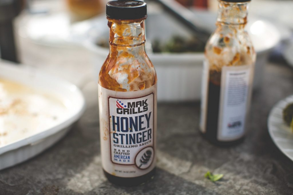 This is the Mak Grills Honey Stinger sauce used for the MAK pulled pork recipe