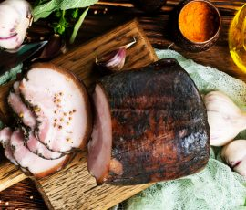 Maple Glazed & Smoked Pork Loin Recipe