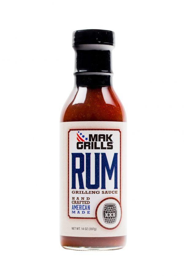 MAK Grills Rum Sauce