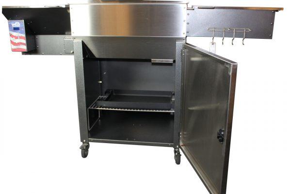 The Mak Grills Two-Star Cabinet Door Accessory