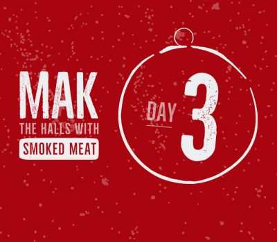 For day 3 of the Mak Grills 12 days of flavor we have our smoked turkey recipe.