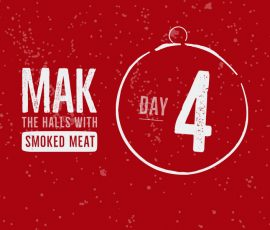 We want you to check out our prime rib recipe as our day 4 of our 12 days of flavor countdown to Christmas
