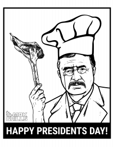 Mak Grills Wants to wish you a happy presidents day