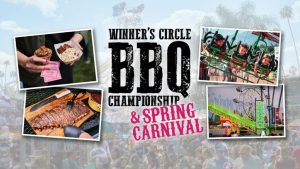 Be sure to check out the Winner's Circle BBQ Championship, you won't want to miss it.