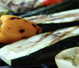 Grilled Zucchini Planks Recipe