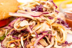 Coleslaw Dinner perfected for your St. Patrick's Day Dinner.