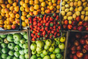 Learn about local produce, shop at your local farmer's market.