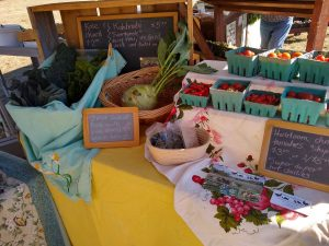 Polk County Bounty Market In Dallas, Oregon is a great place to shop at your local farmer's market.