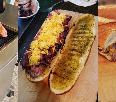 Rib Sandwiches