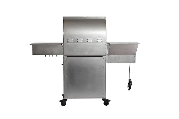 all stainless two-star general back- Pellet Grill - Pellet Smoker