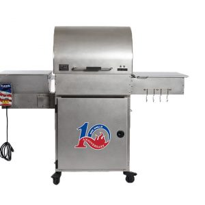 all-stainless two-star general- Pellet Grill - Pellet Smoker