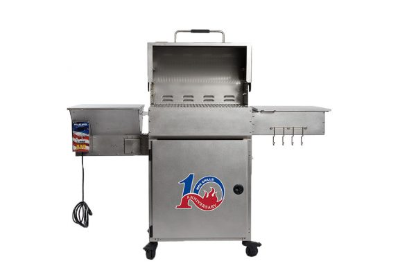 all stainless two star general front- Pellet Grill - Pellet Smoker